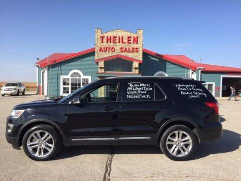 2016 Ford Explorer for sale at THEILEN AUTO SALES in Clear Lake IA
