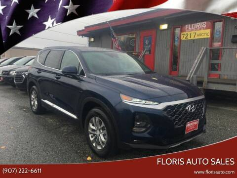 2020 Hyundai Santa Fe for sale at FLORIS AUTO SALES in Anchorage AK