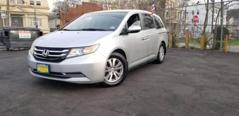 2014 Honda Odyssey for sale at Elis Motors in Irvington NJ