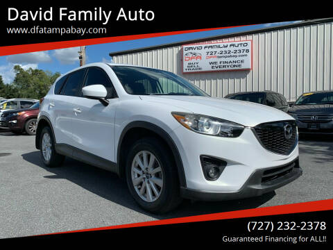 2013 Mazda CX-5 for sale at David Family Auto in New Port Richey FL