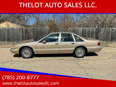 1993 Chevrolet Caprice for sale at THELOT AUTO SALES LLC. in Lawrence KS