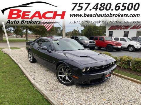2016 Dodge Challenger for sale at Beach Auto Brokers in Norfolk VA