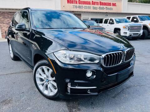2014 BMW X5 for sale at North Georgia Auto Brokers in Snellville GA