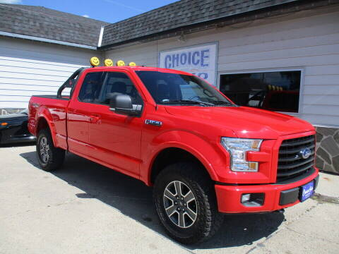2016 Ford F-150 for sale at Choice Auto in Carroll IA