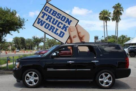 2013 Chevrolet Tahoe for sale at Gibson Truck World in Sanford FL
