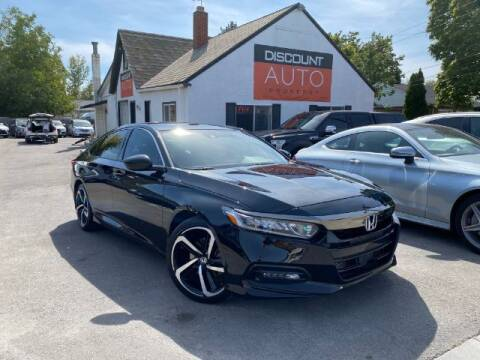2018 Honda Accord for sale at Discount Auto Brokers Inc. in Lehi UT
