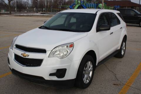 2011 Chevrolet Equinox for sale at A-Auto Luxury Motorsports in Milwaukee WI