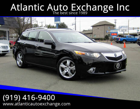 2013 Acura TSX Sport Wagon for sale at Atlantic Auto Exchange Inc in Durham NC