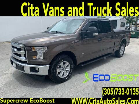 2017 Ford F-150 for sale at Cita Auto Sales in Medley FL