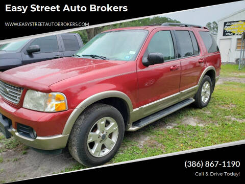 2003 Ford Explorer for sale at Easy Street Auto Brokers in Lake City FL