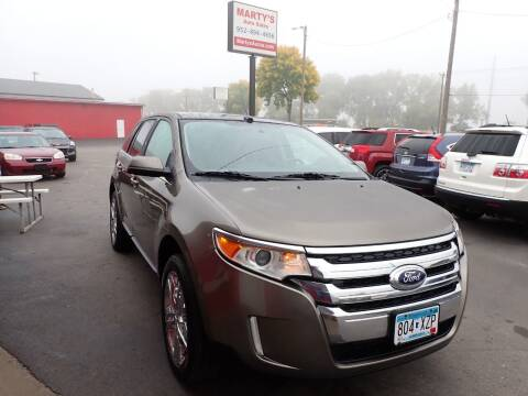 2012 Ford Edge for sale at Marty's Auto Sales in Savage MN