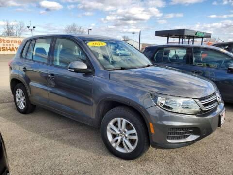 2013 Volkswagen Tiguan for sale at Swan Auto in Roscoe IL