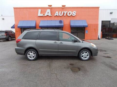 2004 Toyota Sienna for sale at L A AUTOS in Omaha NE