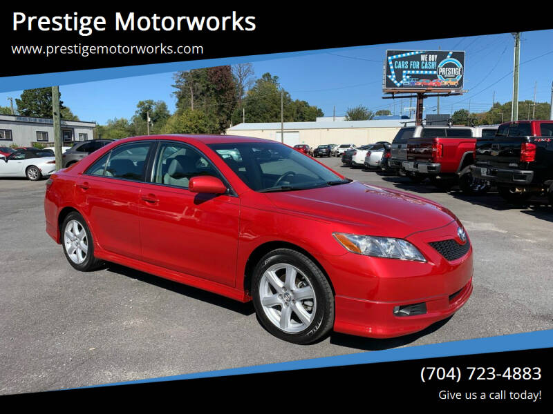 2007 Toyota Camry for sale at Prestige Motorworks in Concord NC
