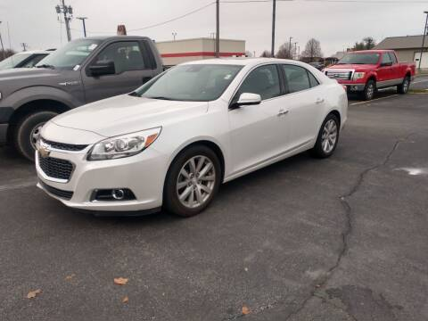 2016 Chevrolet Malibu Limited for sale at CITY SELECT MOTORS in Galesburg IL
