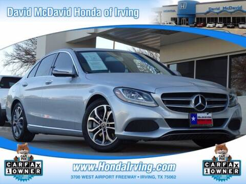 2017 Mercedes-Benz C-Class for sale at DAVID McDAVID HONDA OF IRVING in Irving TX
