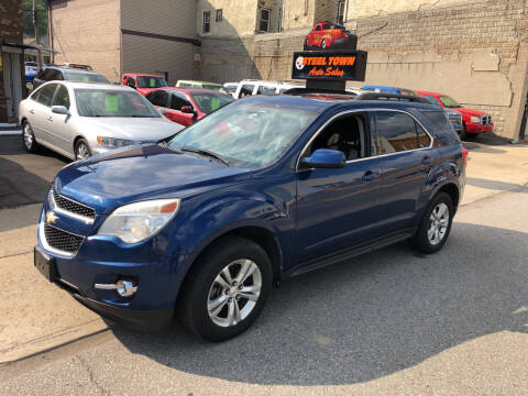 2010 Chevrolet Equinox for sale at STEEL TOWN PRE OWNED AUTO SALES in Weirton WV