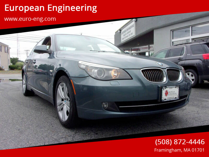 2010 BMW 5 Series for sale at European Engineering in Framingham MA