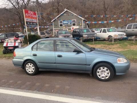 2000 Honda Civic for sale at Korz Auto Farm in Kansas City KS