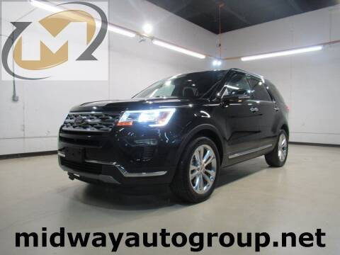 2019 Ford Explorer for sale at Midway Auto Group in Addison TX