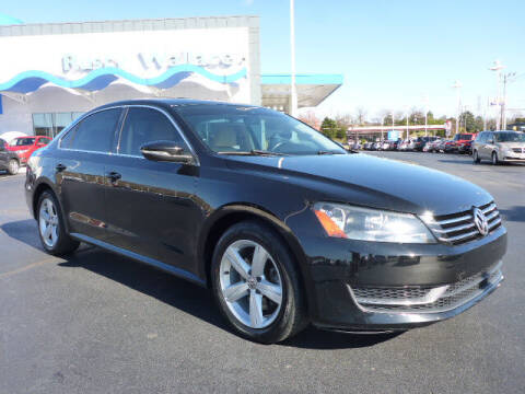 2012 Volkswagen Passat for sale at RUSTY WALLACE HONDA in Knoxville TN