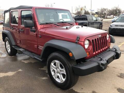 2012 Jeep Wrangler Unlimited for sale at CItywide Auto Credit in Oregon OH