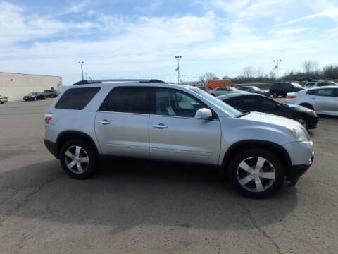 2010 GMC Acadia for sale at BLACKWELL MOTORS INC in Farmington MO