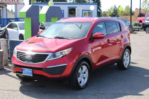 2013 Kia Sportage for sale at BAYSIDE AUTO SALES in Everett WA