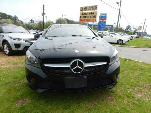 2014 Mercedes-Benz CLA for sale at Atlanta Fine Cars in Jonesboro GA
