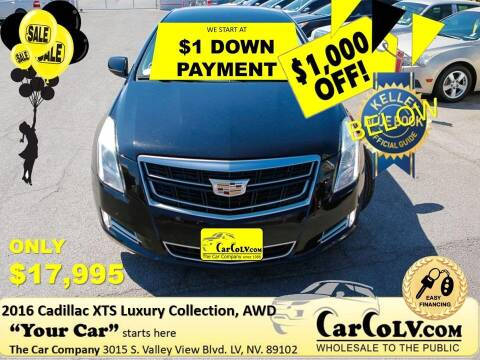 2016 Cadillac XTS for sale at The Car Company in Las Vegas NV