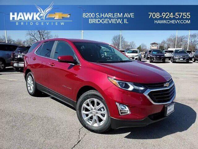 2021 Chevrolet Equinox for sale at Hawk Chevrolet of Bridgeview in Bridgeview IL