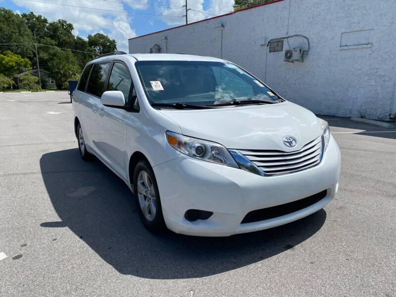 2017 Toyota Sienna for sale at LUXURY AUTO MALL in Tampa FL