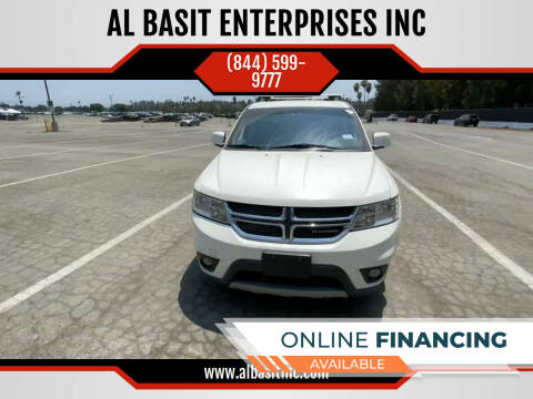 2012 Dodge Journey for sale at AL BASIT ENTERPRISES INC in Riverside CA
