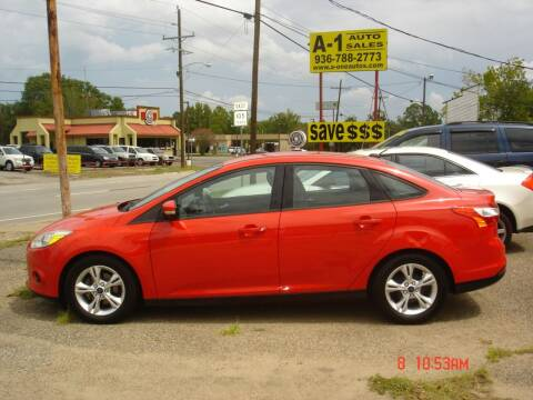 2014 Ford Focus for sale at A-1 Auto Sales in Conroe TX