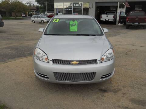 2012 Chevrolet Impala for sale at Shaw Motor Sales in Kalkaska MI
