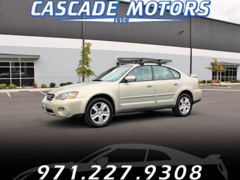 2005 Subaru Outback for sale at Cascade Motors in Portland OR