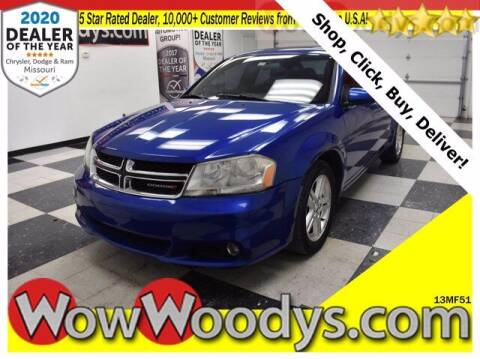 2013 Dodge Avenger for sale at WOODY'S AUTOMOTIVE GROUP in Chillicothe MO