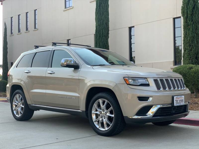 2014 Jeep Grand Cherokee for sale at Auto King in Roseville CA