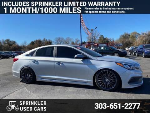 2015 Hyundai Sonata for sale at Sprinkler Used Cars in Longmont CO