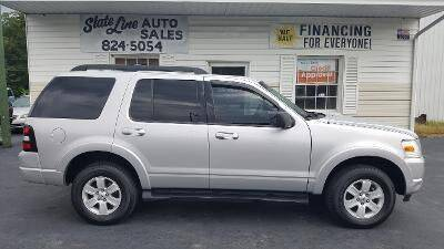 2010 Ford Explorer for sale at STATE LINE AUTO SALES in New Church VA