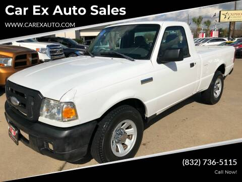 2007 Ford Ranger for sale at Car Ex Auto Sales in Houston TX