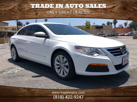 2012 Volkswagen CC for sale at Trade In Auto Sales in Van Nuys CA