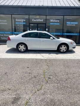 2014 Chevrolet Impala Limited for sale at Georgia Certified Motors in Stockbridge GA