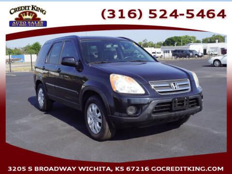 2005 Honda CR-V for sale at Credit King Auto Sales in Wichita KS