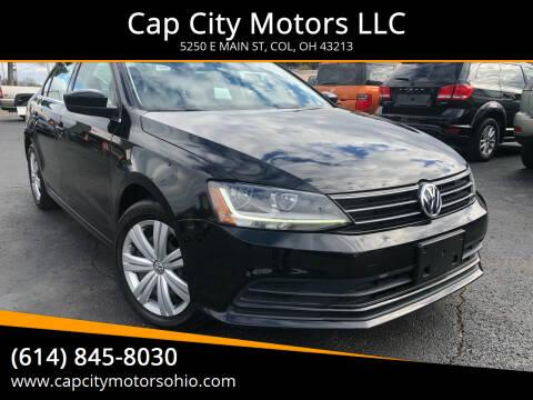 2017 Volkswagen Jetta for sale at Cap City Motors LLC in Columbus OH