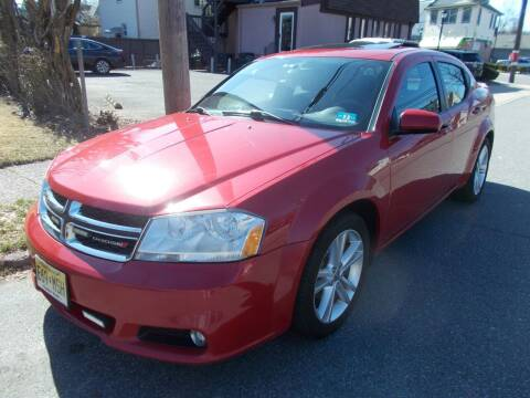 2012 Dodge Avenger for sale at Mercury Auto Sales in Woodland Park NJ