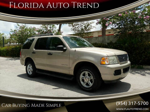 2005 Ford Explorer for sale at Florida Auto Trend in Plantation FL