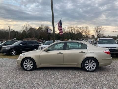 2010 Hyundai Genesis for sale at Joye & Company INC, in Augusta GA