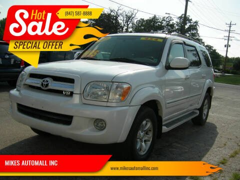 2005 Toyota Sequoia for sale at MIKES AUTOMALL INC in Ingleside IL