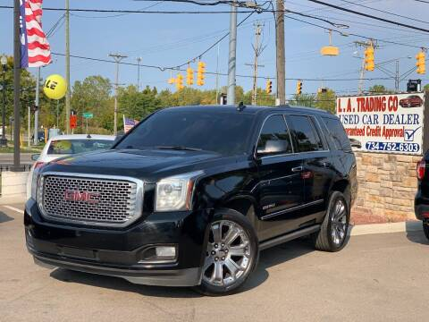 2016 GMC Yukon for sale at L.A. Trading Co. in Woodhaven MI
